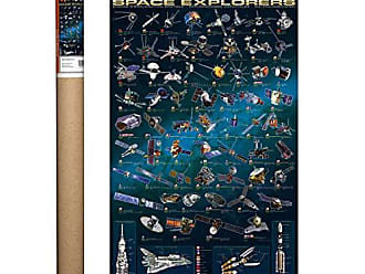 36 x 24 inch EuroGraphics Famous Scientists Poster