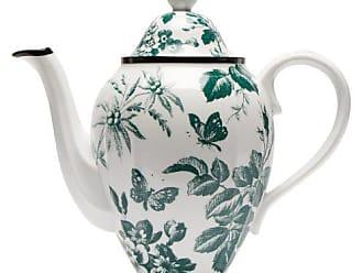 Gucci Herbarium Porcelain Coffee Pot - Womens - Green Multi