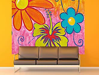 Ideal Decor Spring Flowers Wall Mural - DM904