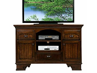Eagle Furniture American Premiere 58 in. Entertainment Console with Optional hutch with 52 in. Opening - EAGL390-10