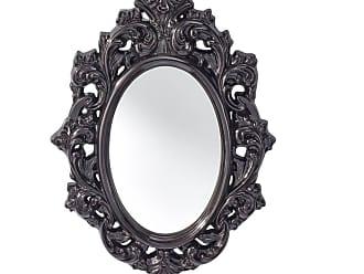 Feiss Resplendent Hi Gloss Black - Mirror