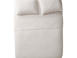 VCNY Caroline Floral Embossed Quilt Set by VCNY Home Taupe, Size: Full/Queen - CAR-3QT-FUQU-IN-TA