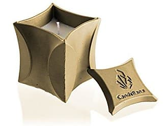 Graal Golden Brown for Him Candellana Candles Candlefort Concrete Candle Scent