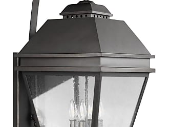 Feiss Herald 27 4-Light Outdoor Wall Lantern in Antique Bronze