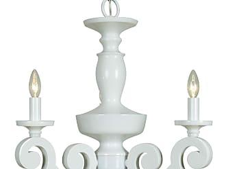 Craftmade Jeremiah Indoor Lighting 3 Light Chandelier In Gloss White