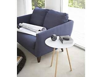 Yamazaki Home 2341 15.8 x 15.8 in. Plain Side Table - White