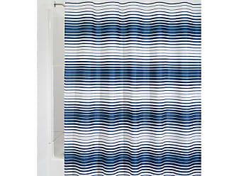Tessuto InterDesign Ombre Chevron Tenda Doccia 100x180x100 cm Grigio