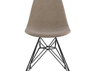 NyeKoncept 331001EM3 Mid Century Eiffel Side Chair, Light Sand