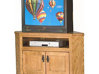 Eagle Furniture Mission 40 in. Corner Entertainment Center - 88730WPCC