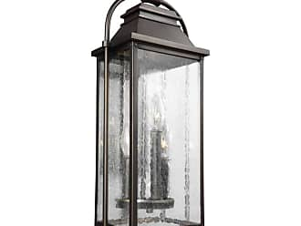 Feiss OL13200 Wellsworth 3 Light 18 Tall Outdoor Wall Sconce Antique