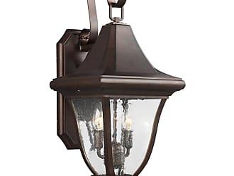 Feiss Oakmont - 2 - Light Outdoor Wall Lantern in Patina Bronze