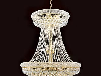 Worldwide Lighting W83037G36 Empire 28 Light 1 Tier 36 Gold