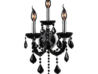 Worldwide Lighting W2311312 Lyre 3 Light 10 Wide Wall Sconce with
