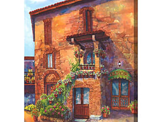West of the Wind LAlbergo Indoor/Outdoor Canvas Art - OU-71134
