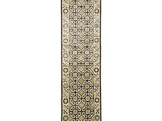 Solo Rugs Khotan Hand Knotted Runner Rug, 2 5 x 9 9, Beige