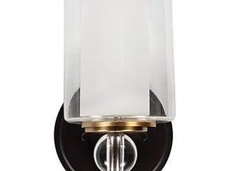 Elk 500-1ES 1-Light Wall Bracket in Satin Nickel and Espresso Glass