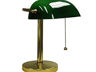 Ore International ORE International KT-188GR Bankers Lamp, 12.5-Inch Height, Green