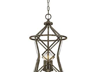 Millennium Lighting Lakewood 3-Light Pendant in Antique Silver