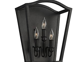 Feiss Yarmouth 3 - Light Sconce in Antique Forged Iron