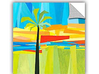 ArtWall Jan Weisss Wonderful Palm, Removable Wall Art Mural 14X14