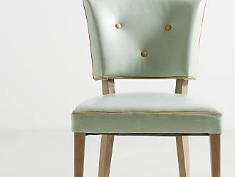 Anthropologie Premium Leather Promena Dining Chair