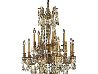 Worldwide Lighting W8331028 Windsor 15 Light 28 Wide Chandelier with