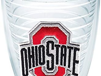 Trevis Tervis 1006608 Ohio State Buckeyes Logo Tumbler with Emblem 12oz, Clear