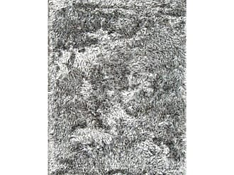 Noble House Crystal Area Rug - White/Black, Size: 8 x 11 ft. - CRYM2505811