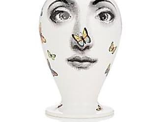 Fornasetti Farfalle Vase - Wht.&blk