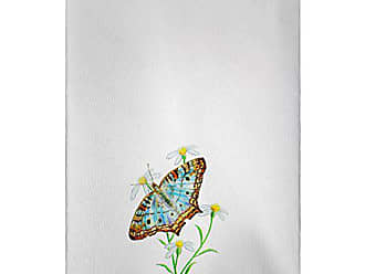 Betsy Drake GT764 Peacock Butterfly Guest Towel