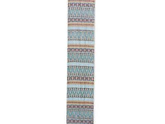 Blue Paradise NOVICA Blue Cotton and Fragrant Root Table Runner