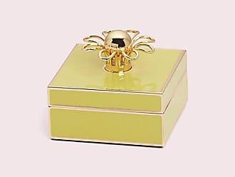 Kate Spade New York Keaton Street Keepsake Box, Yellow