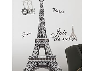 RoomMates Eiffel Tower Peel and Stick Giant Wall Decal - RMK1576GM