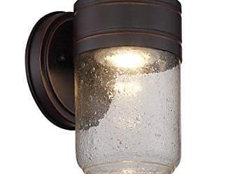 Lite Source Inc. Wall Sconce Decor Lamp, Dark Bronze/Clear