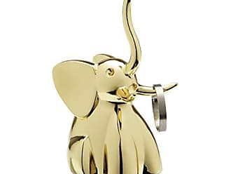 Umbra Zoola Elephant Ring Holder, Brass