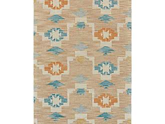 Room Envy Rugs Fariza Aztec Rustic Indoor Area Rug Ivory / Crimson - I25I8010IVYCRSC50