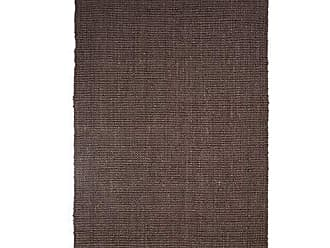 Home City Inc. Superior Reversible Kula Jute Area Rug, 3 x 5, Chocolate