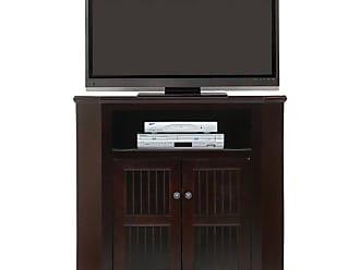 American Heartland 2 Door Poplar Corner TV Stand - Assorted Finishes, Size: 41.5 in. - 75734EAM