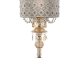 River of Goods 15029 Blossoms Single Light 24 High Buffet Table Lamp