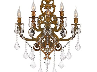 Worldwide Lighting W2331819 Versailles 5 Light 15 Wide Wall Sconce