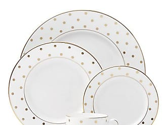Kate Spade New York Larabee Road Gold 5 Piece Place Setting, Gold