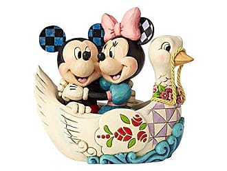 Enesco Disney Traditions by Jim Shore Mickey and Minnie Lovebirds Figurine, 5.38, Multicolor