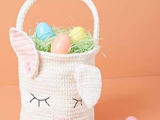 Anthropologie Woven Easter Basket