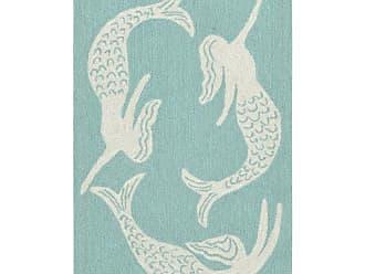 Liora Manne Capri Mermaids Indoor/Outdoor Rug Blue - CAP23167404