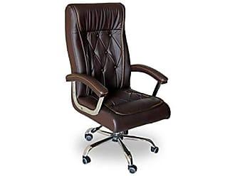 Pelegrin Cadeira Presidente em Couro Pu Pelegrin Pel-8040