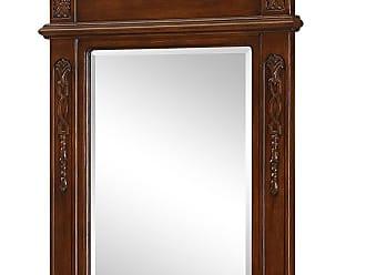 Elegant Lighting Vanity Mirror 24 x 36 Brown