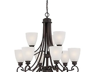 Thomas Lighting TK0018 Haven 9 Light 28-1/2 Wide Chandelier with