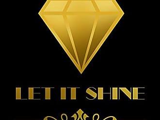 Buyartforless Let It Shine Diamond 24x24 GICLEE 12 Color Art Print Poster by Claudia Schöen