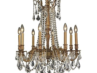 Worldwide Lighting W8330624 Windsor 8 Light 24 Wide Chandelier with