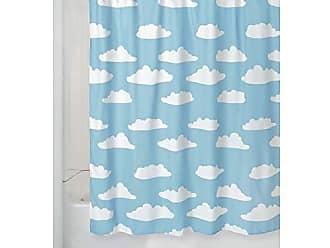 Multicolore iDesign Novelty Poly Design con Motivo ad Arcobaleno Vasca Poliestere al 100/% Tenda Bagno Doccia 182,9 cm x 0,3 cm